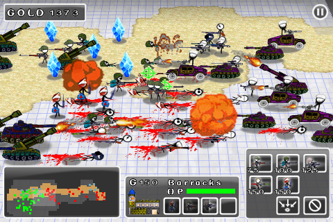 Doodle Wars2:Counter Strike Wars Lite Screenshot 2